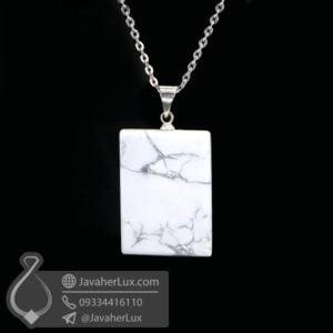 گردنبند سنگ هولیت _ کد : 400392