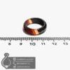 حلقه عقیق سلیمانی مدل رشنواد