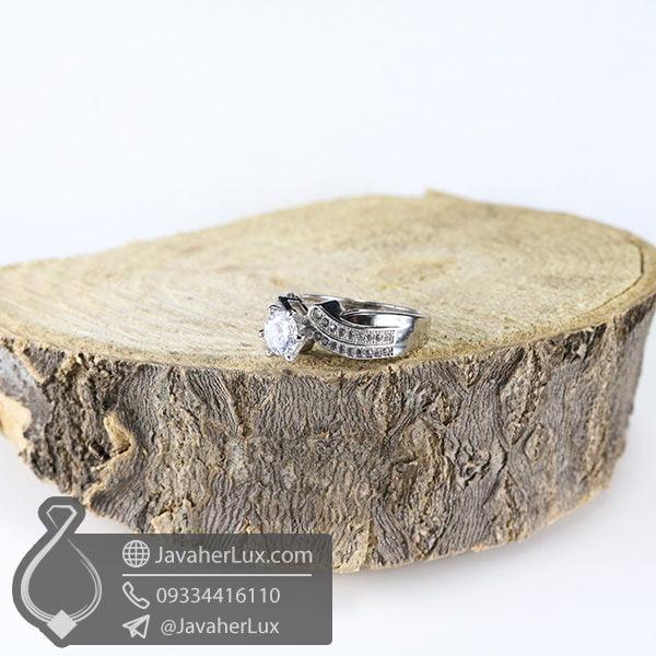 انگشتر نقره زنانه مدل رهان _ کد : 100518