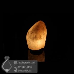 چراغ سنگ نمک هالیت بدون تراش _ کد : 400461