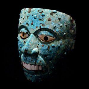 ماسک خدای آتش مربوط به آزتک ها