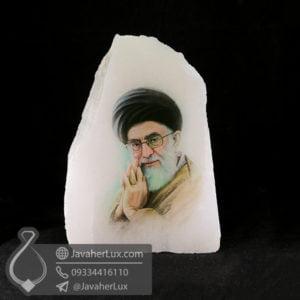 آباژور سنگ نمک طرح امام خامنه ای _ کد : 400482