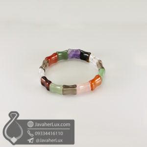 دستبند چند جواهر _ کد : 400486