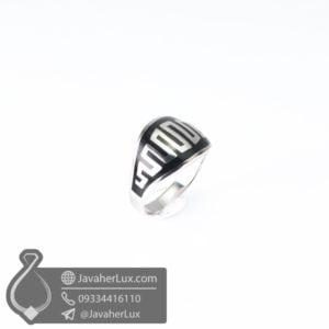 انگشتر نقره مردانه اسپرت ورساچه _ کد : 100581
