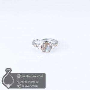 انگشتر نقره زنانه لابرادوریت _ کد : 100593