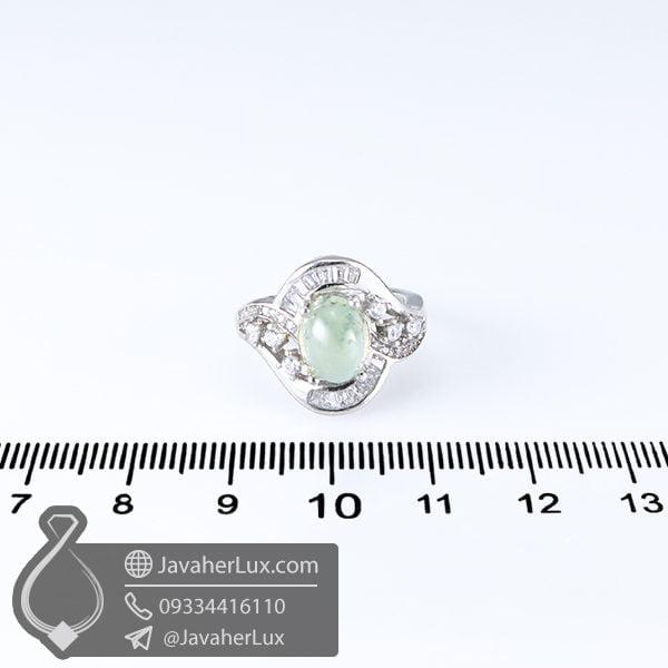 انگشتر نقره پرهنیت _ کد : 100589