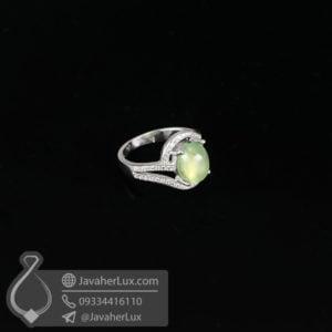 انگشتر نقره زنانه پرهنیت _ کد : 100633