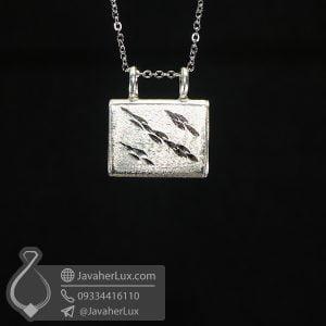 گردنبند جاحرزی نقره _ کد : 100675