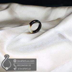 حلقه سنگ عقیق سلیمانی _ کد : 400606