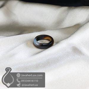 حلقه سنگ عقیق سلیمانی مدل تیارانا _ کد : 400607