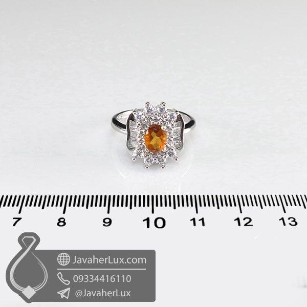 انگشتر نقره زنانه هسونیت _ کد : 100686