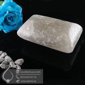 صابون سنگ نمک هالیت دودی تراش مستطیل _ کد : 400647