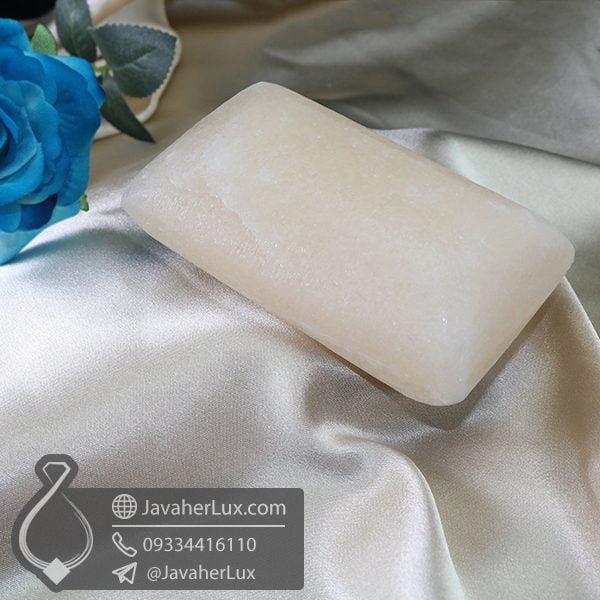 صابون سنگ نمک هالیت لیمویی تراش مستطیل_ کد : 400655