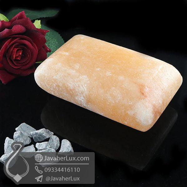 صابون سنگ نمک هالیت تراش مستطیل _ کد : 400659
