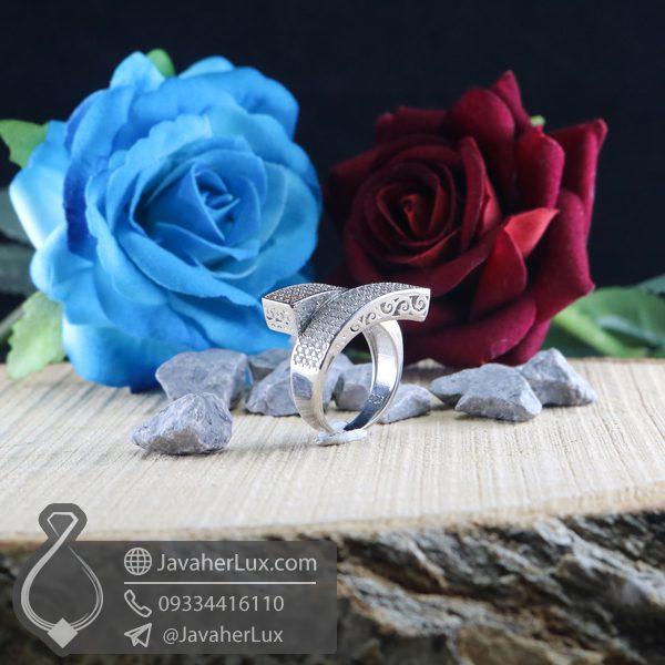 انگشتر نقره زنانه فانتزی _ کد : 100716