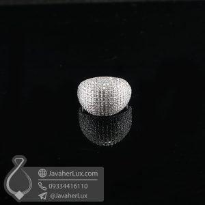 انگشتر نقره زنانه فانتزی _ کد : 100720