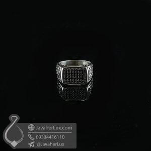 انگشتر نقره مردانه اسپرت _ کد : 100735