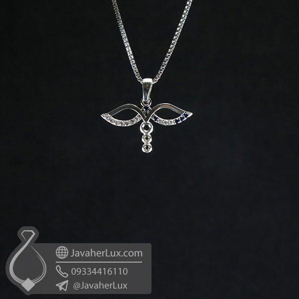 گردنبند نقره زنانه _ کد : 100744