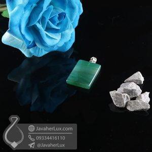 گردنبند سنگ عقیق سلیمانی _ کد : 400727
